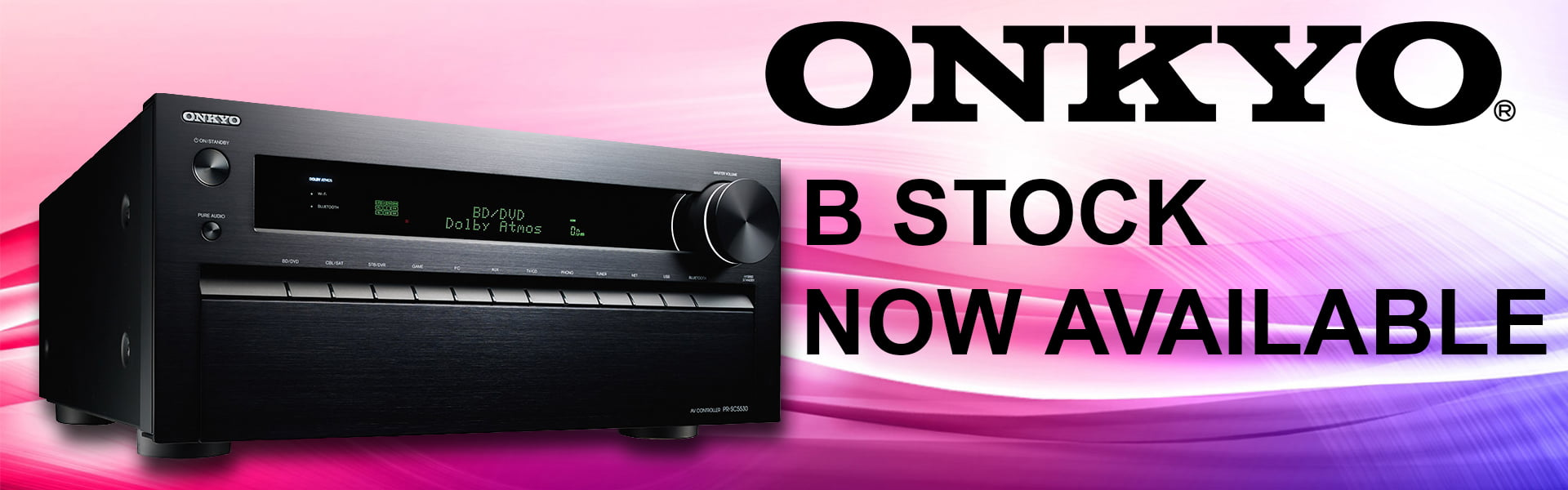 Onkyo B Stock now available