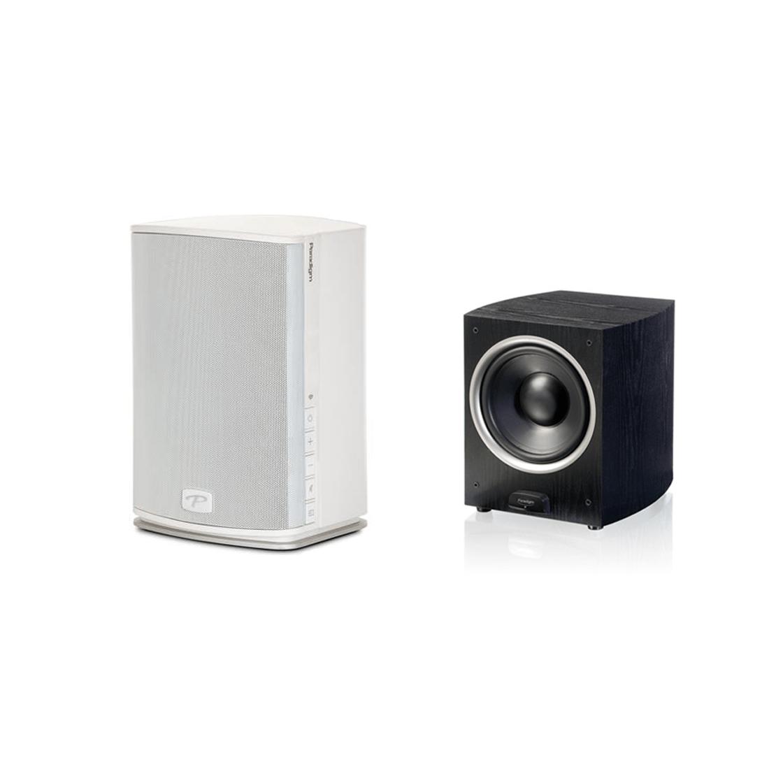 Paradigm PW 600 Premium Wireless Compact Stereo Speaker | PDR-100 ...