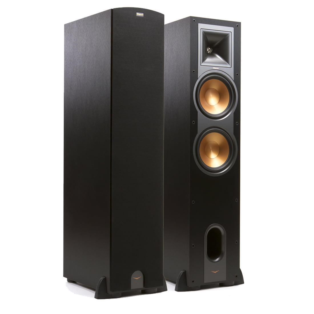 catalog standing floor black piano speakers floors rp klipsch floorstanding speaker