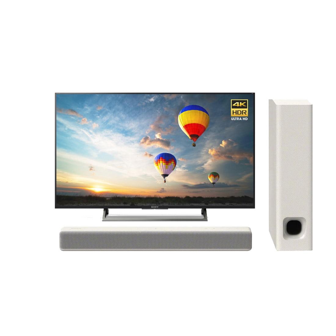 sony xbr 49x800e 49 led 4k smart tv ht mt300 w 100w 2 1. Black Bedroom Furniture Sets. Home Design Ideas