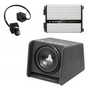 JL Audio CP112-W0v3 Sub w/ JX250/1D Amp and RBC-1 Bass Remote - #93281 - #99402 - #98015 - Bundle