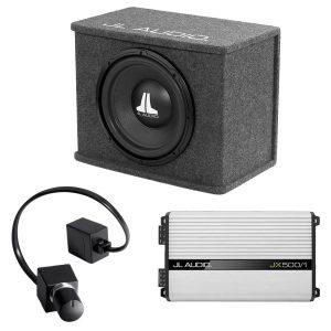 JL Audio CS112-WXV2 Sub w/ JX500/1D Amp and RBC-1 Bass Remote - #93291 - #99400 - #98015 - Bundle