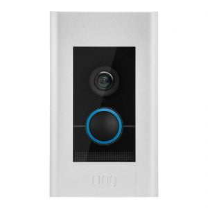 Ring Wi-Fi Video Doorbell Elite POE 1080P Flush Mt