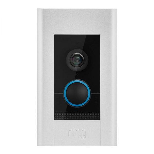Ring Wi-Fi Video Doorbell Elite POE 1080P Flush Mt