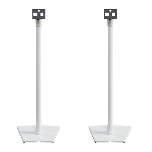 SANUS WSS2-W1 Speaker Stand for the Sonos PLAY:1 and PLAY:3 - White - Pair