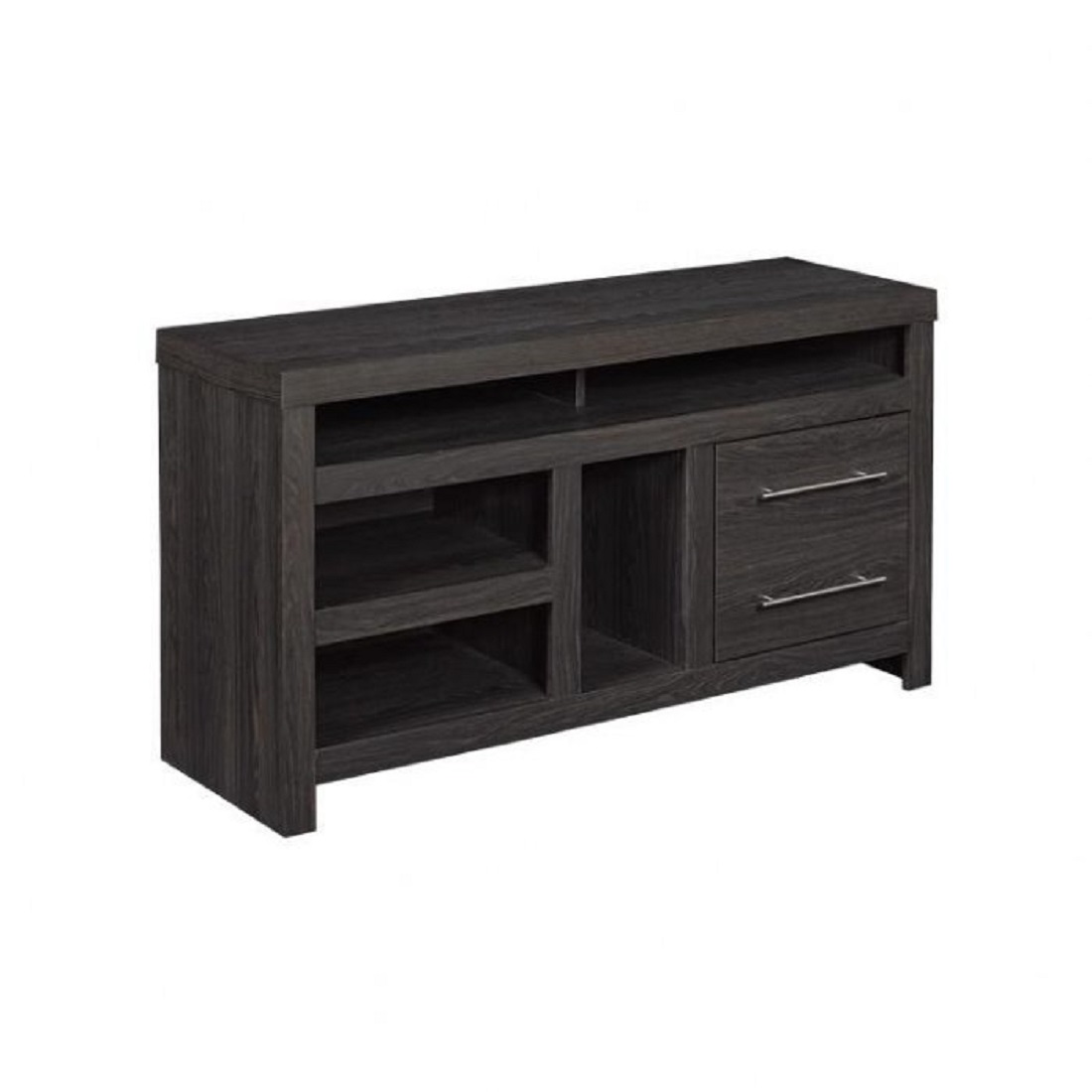 Bello Arcola 48 Media Console With Center Gaming Nook Black # Meuble Tv Gaming