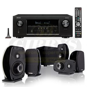Denon AVR-S930H B-Stock Paradigm Cinema 100 CT Bundle