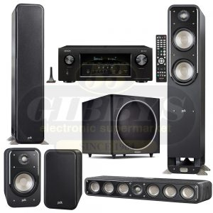 Denon AVR-S930H B-Stock Polk Audio S55 S35 S20 Bundle