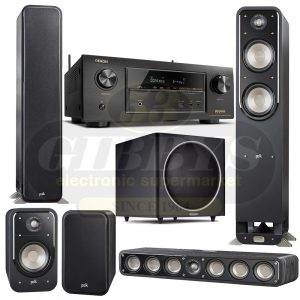 Denon AVR-X3300W B-Stock Polk Audio S55 S35 S20 Bundle