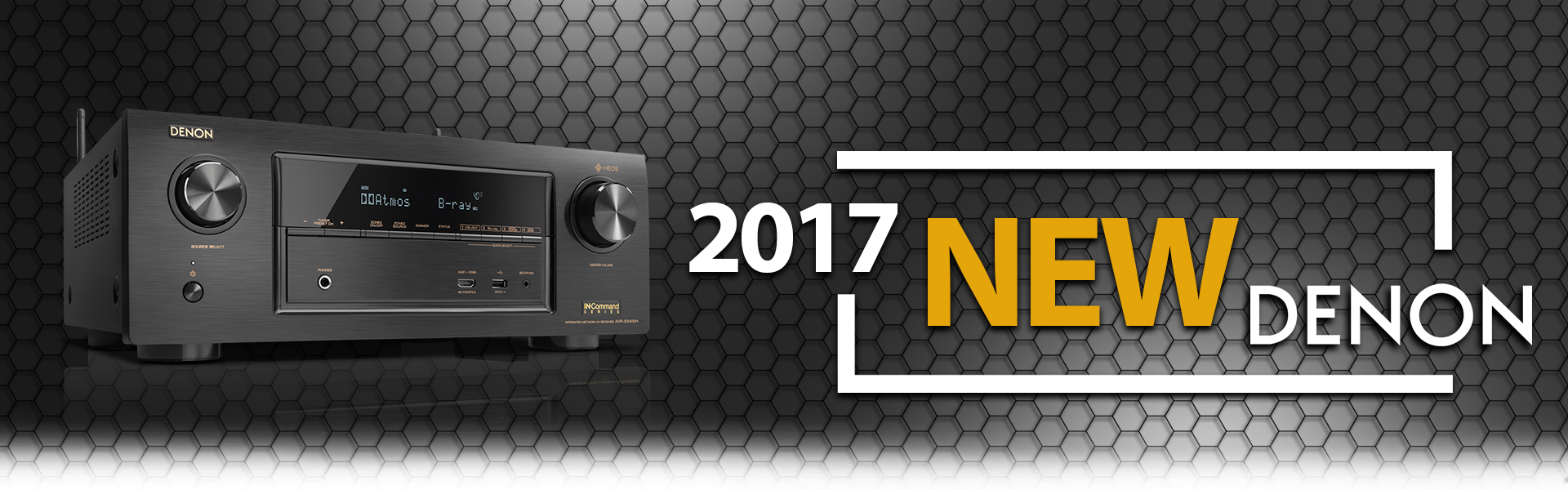 Denon Receivers 2017