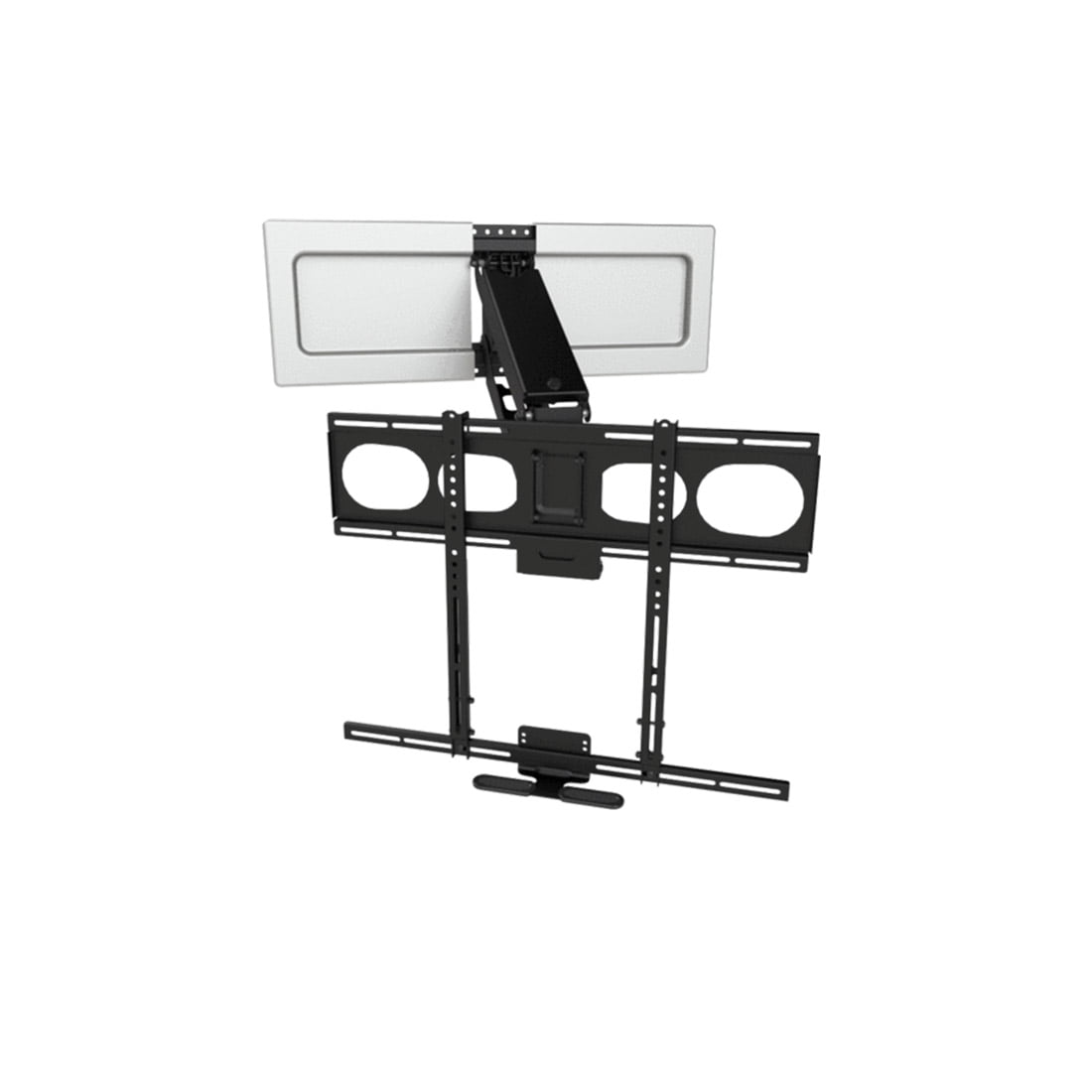 mantelmount mm540 enhanced pull down tv mount. Black Bedroom Furniture Sets. Home Design Ideas