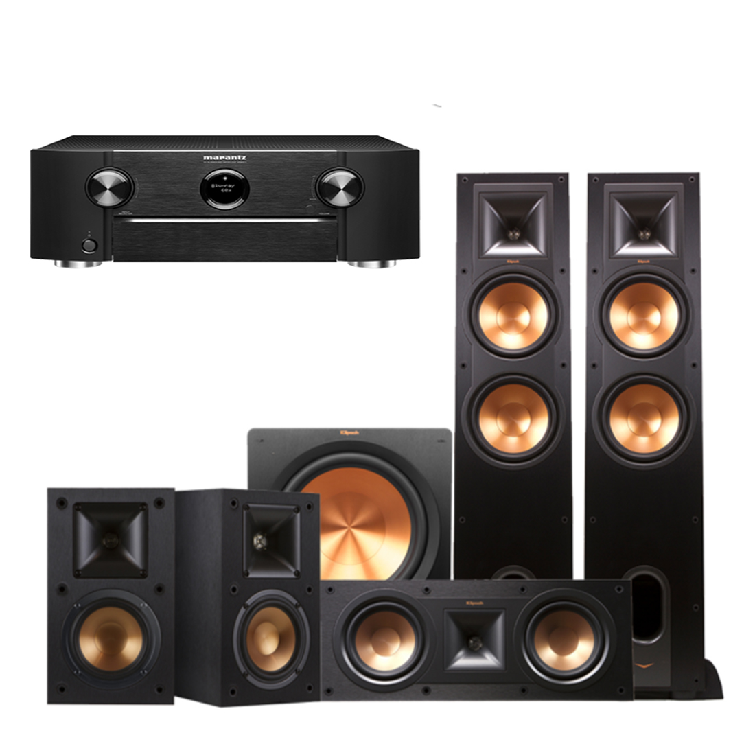 youtube klipsch depth speakers in bookshelf part watch r review an