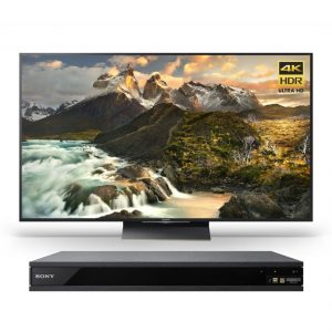 Sony XBR-65Z9D 65″ 4K Ultra HD Smart LED TV and UBP-X800 4K Ultra HD Hi-Res Audio Blu-Ray Player - Bundle