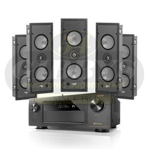 Denon AVR-X4300H Paradigm P1-LCR (5) Bundle