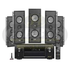 Denon AVR-X4400H Paradigm P1-LCR (5) Bundle