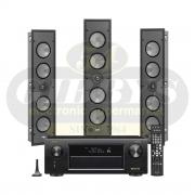 Denon AVR-X4400H Paradigm P3-LCR (3) Bundle
