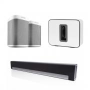 Sonos Play:1 White playbar sub bundle