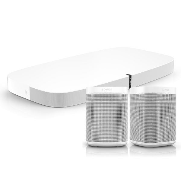 Sonos Play base 2 Sonos Ones