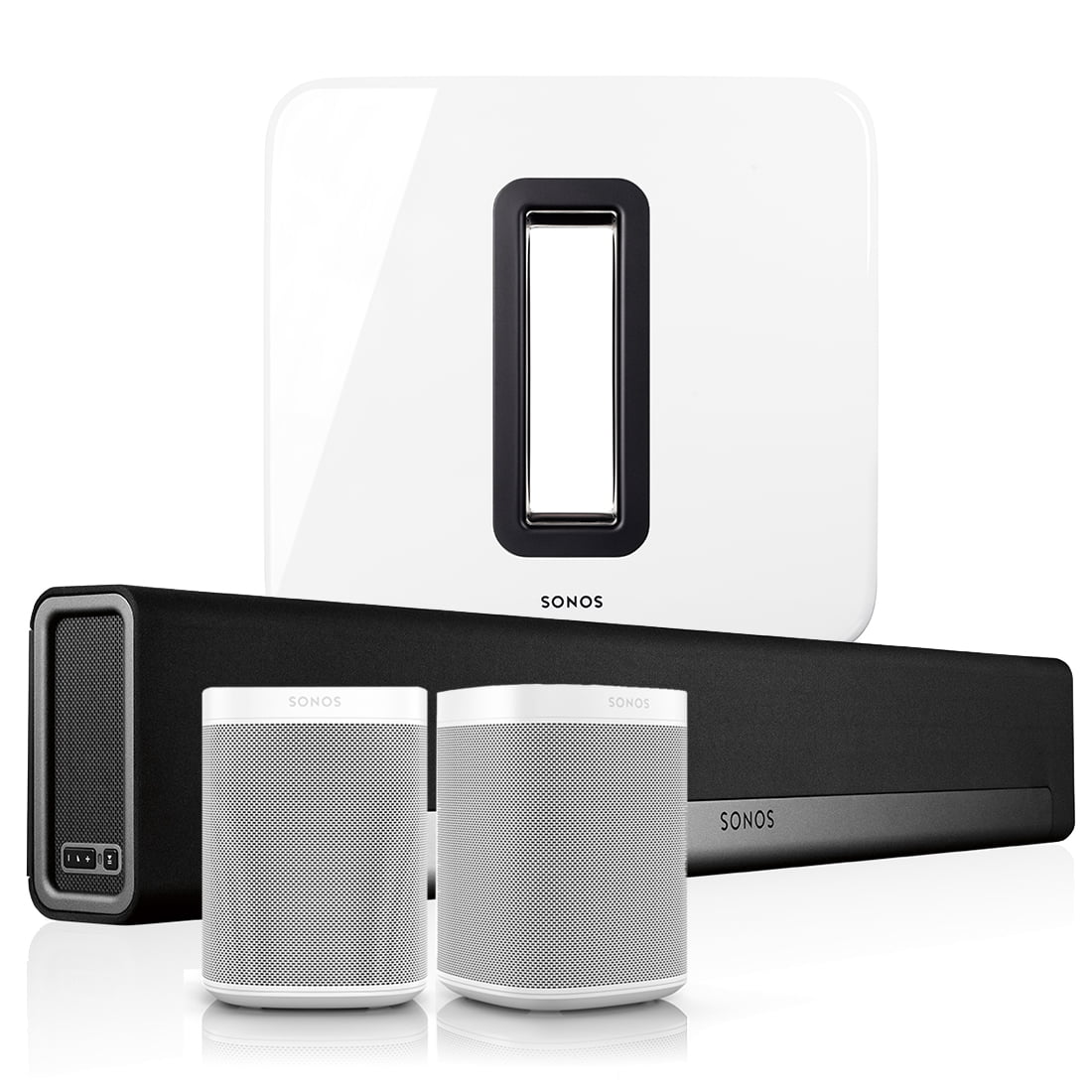 5 1 home theater set sonos playbar with one and sub bundle. Black Bedroom Furniture Sets. Home Design Ideas