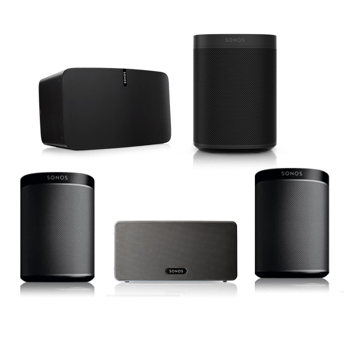 sonos one wireless speaker sonos play 1 wireless speaker. Black Bedroom Furniture Sets. Home Design Ideas