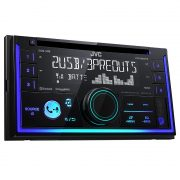 JVC KW-R935BTS Double DIN Bluetooth Car Stereo w/ Sirius XM Tuner