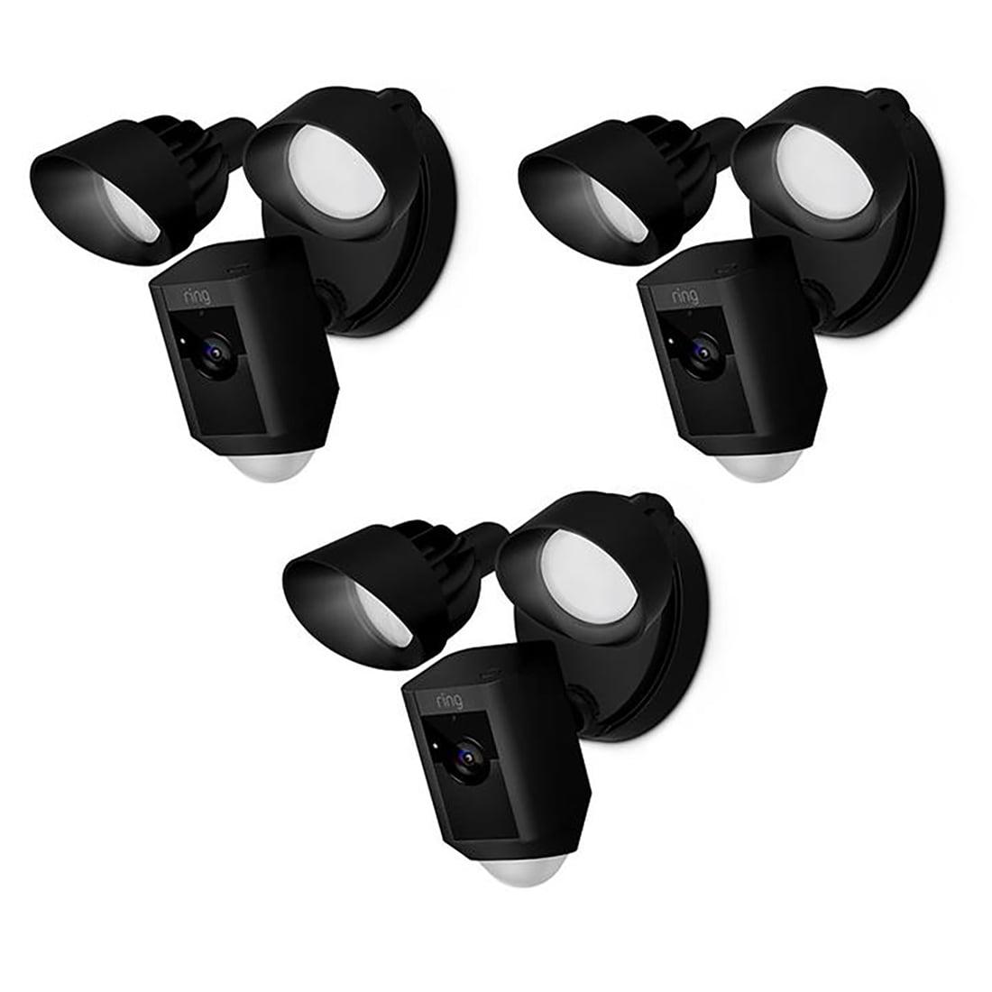 Ring Floodlight Cam X3 Black Bundle