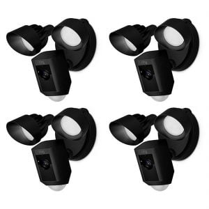 Ring Floodlight Cam (4) - Bundle