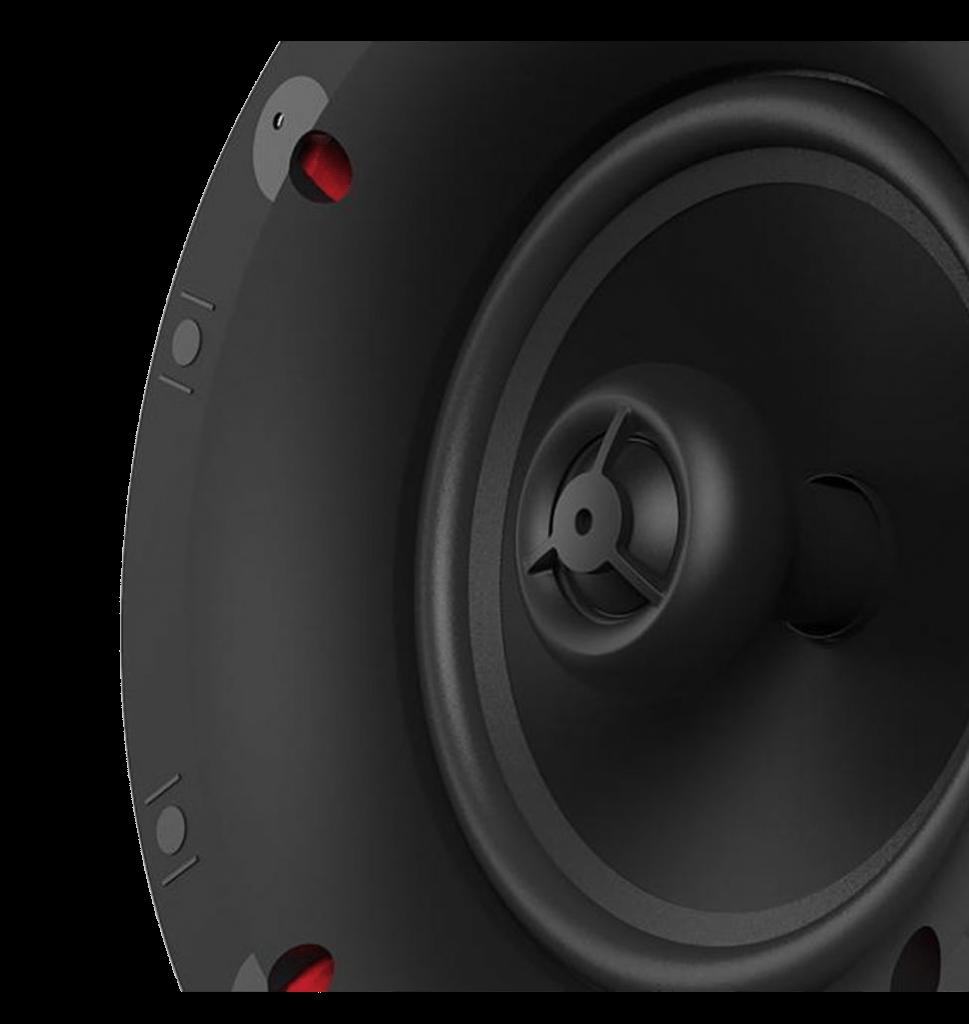 "Klipsch DS-160CSM 6.5"" Stereo In-Ceiling Speaker"