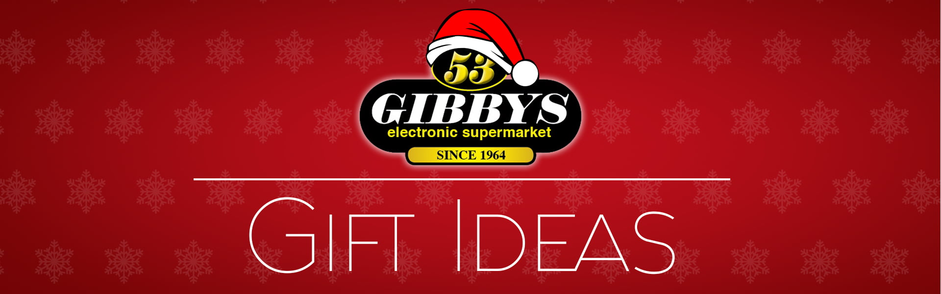 Gift Ideas header