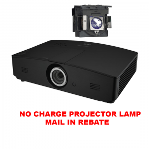 JVC LX-FH50 DLP Projector w/ FREE MAIL-IN REBATE PK-L3715UW Replacement Projector Lamp