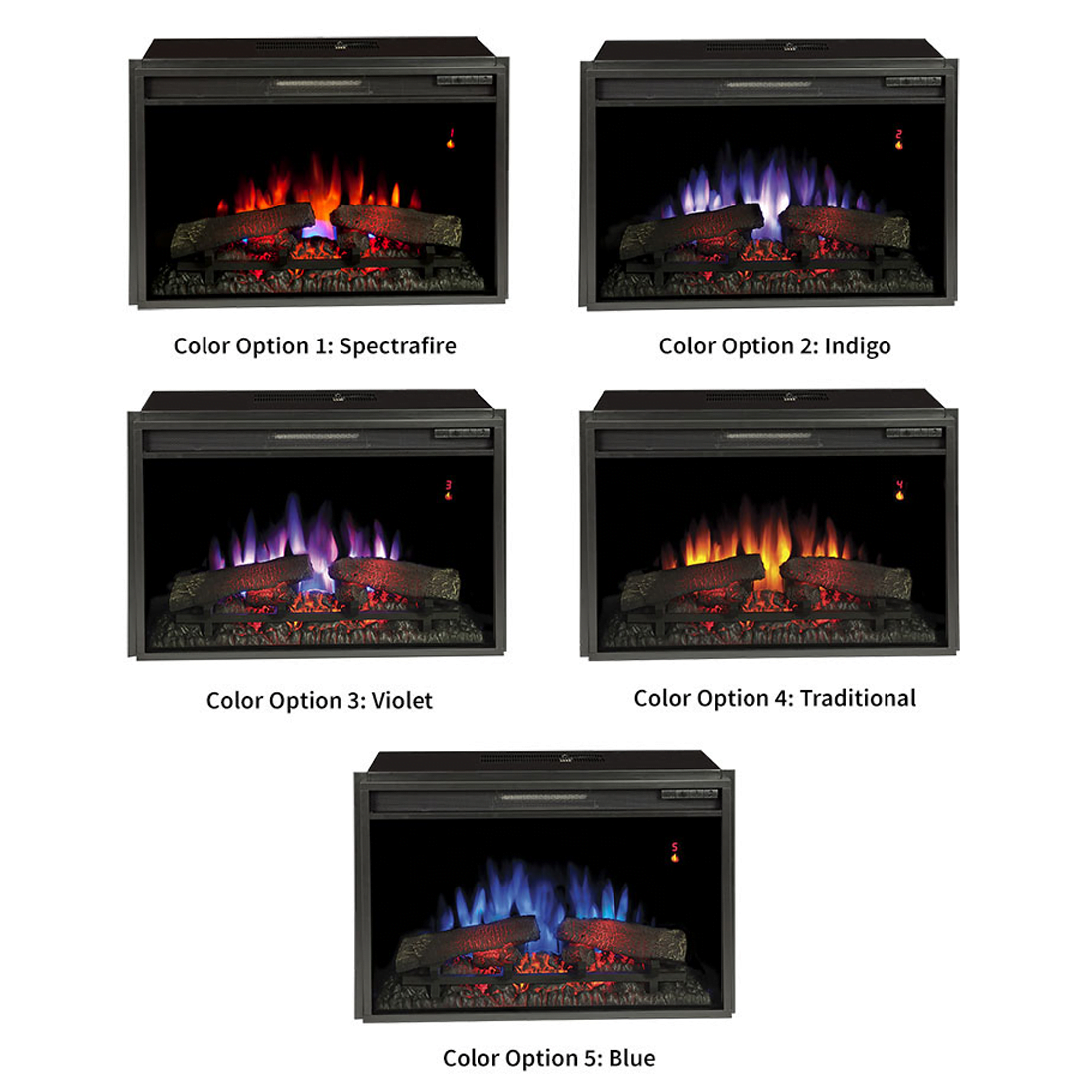 Bell 39 O 26ef031grp 26 Electric Fireplace Insert