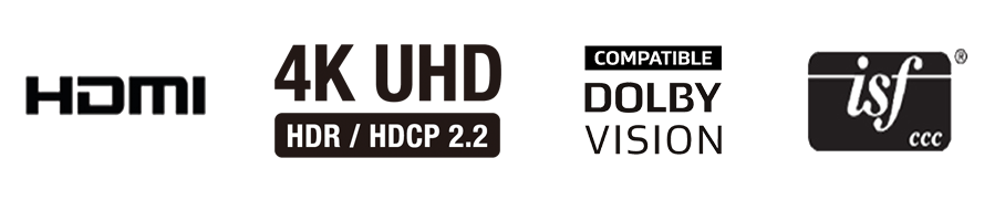 HDMI 4K DolbyVision ISF