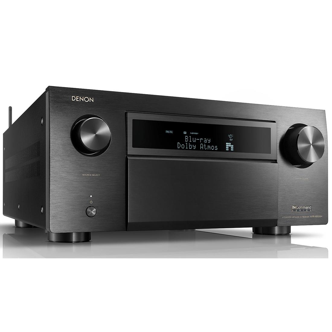 Denon AVR-X8500H 13 2 Channel 4K AV Receiver - Black