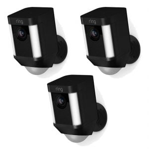 Ring Spotlight Cam Battery x3 - Black