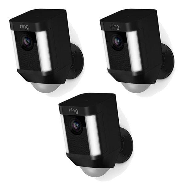 Ring Spotlight Cam Battery x3 - Black
