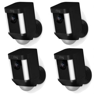 Ring Spotlight Cam Battery x4 - Black