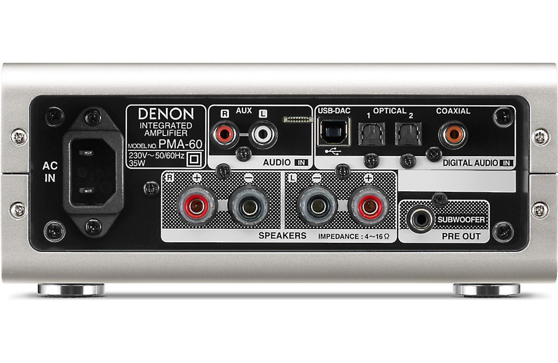 Denon Pma 60 Stereo Integrated Amplifier W Built In Dac