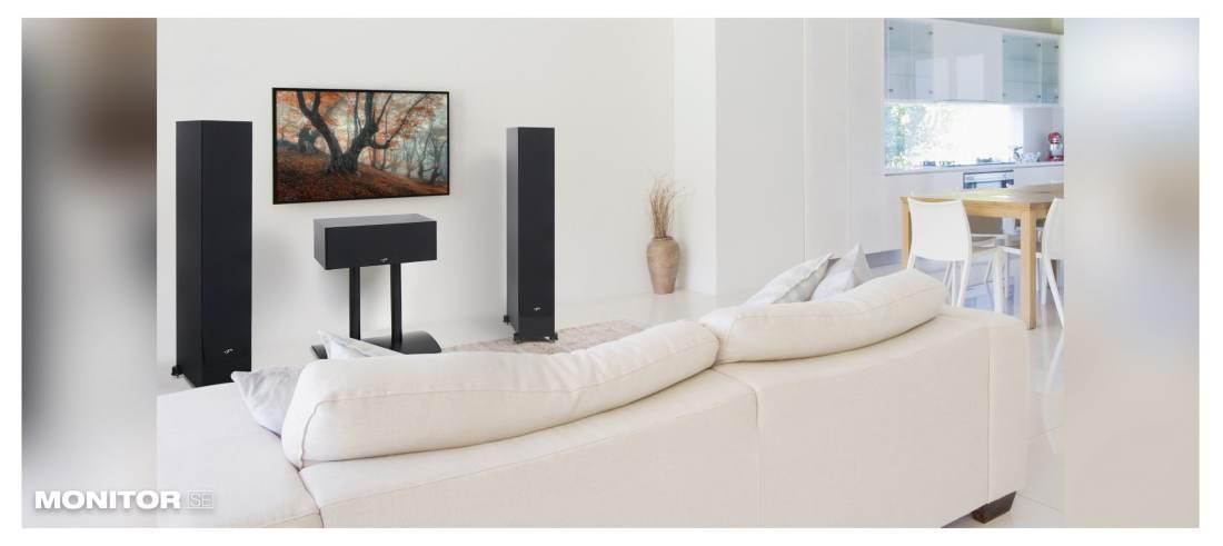 monitor 6000f Paradigm Monitor SE6000F Black LIFESTYLEblack lifestyle image