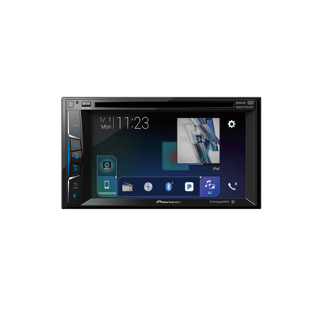 Pioneer Avh 500ex 6 2 Multimedia Dvd Receiver # Meuble Tv Double Face