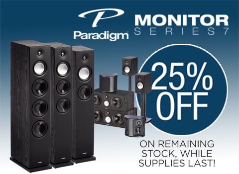 Paradigm 25% off Banner for mobile