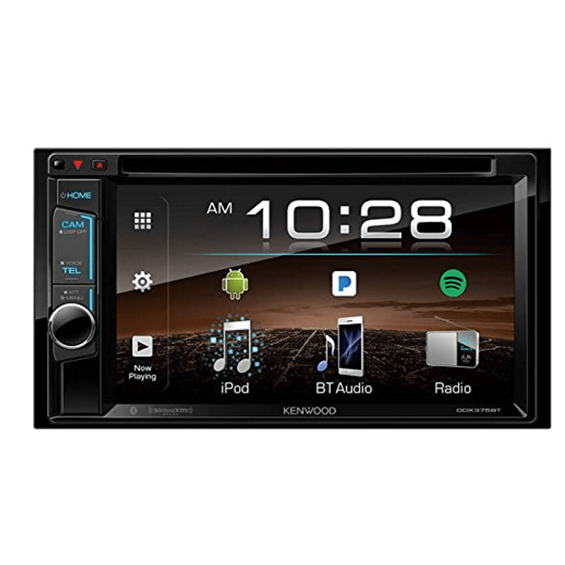 kenwood ddx 375bt 2 din monitor receiver with bluetooth. Black Bedroom Furniture Sets. Home Design Ideas