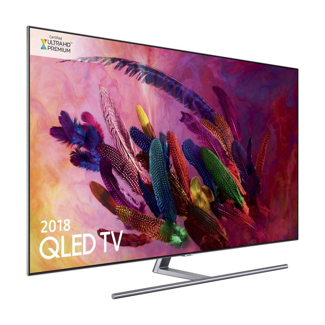 Samsung Qn55q7fnafxzc 55 Class Q7fn Qled Smart 4k Uhd Tv Multi Room Distribution System On Wall Mount Wiring Diagram Qn55q7fna