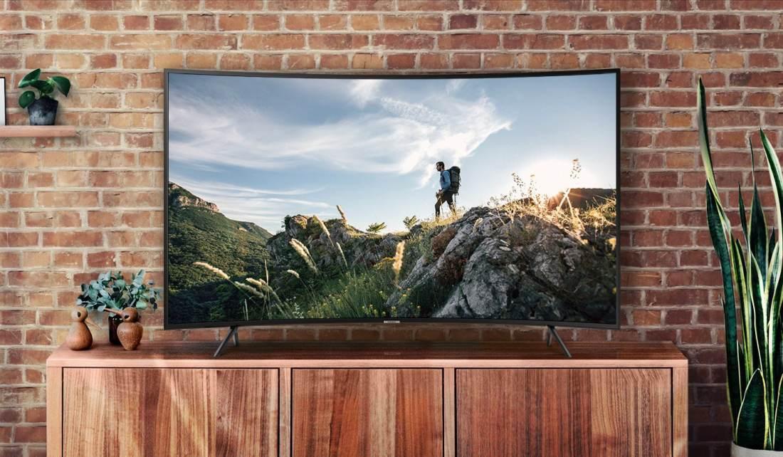 Samsung Un55nu7300 55 Quot Uhd 4k Series 7 Curved Smart Tv