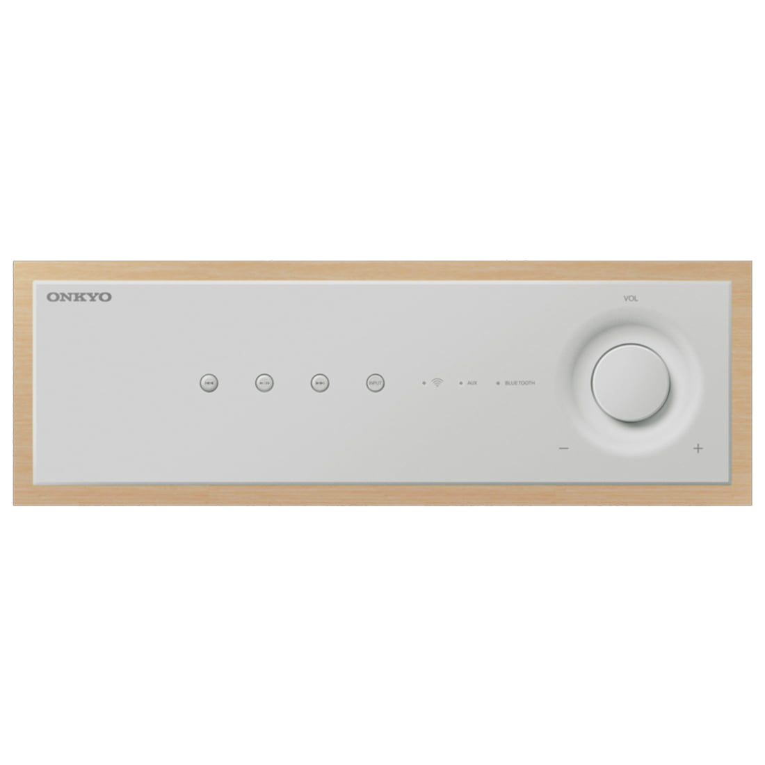 Onkyo NCP-302 White Wireless Audio System With Bluetooth