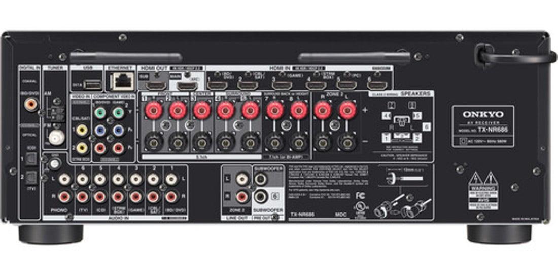 Onkyo TX-NR686 7 2-Channel Network A/V Receiver - B-Stock