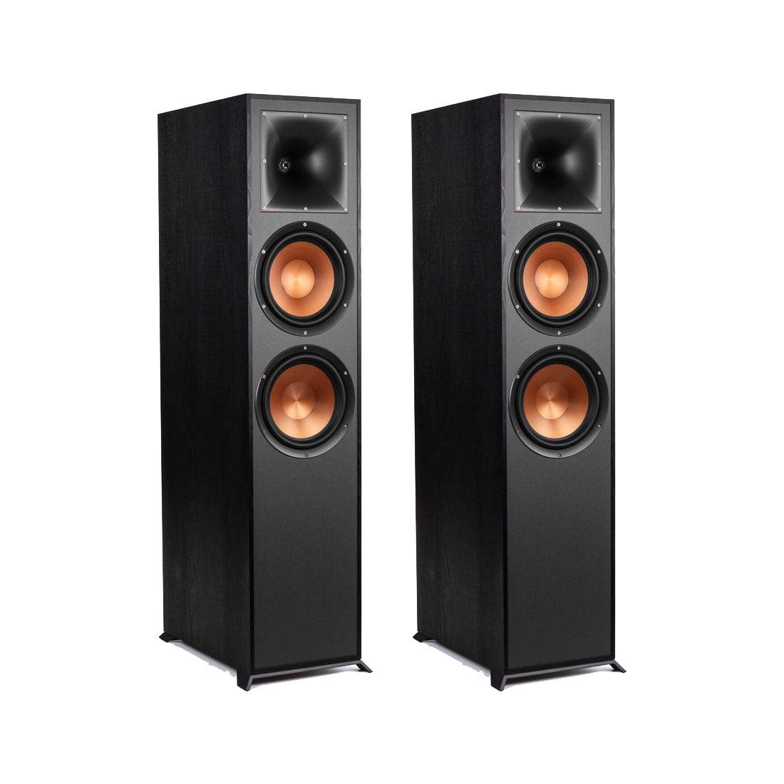 Klipsch R-820FB Reference Floor-standing Speakers - Black - Pair