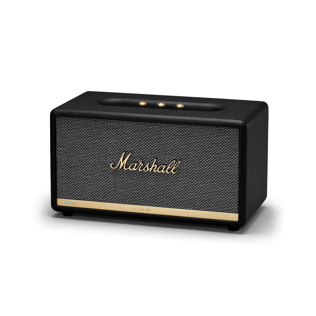 Alexa Bluetooth Speaker >> Marshall Stanmore Ii Voice With Alexa Wireless Bluetooth Speaker