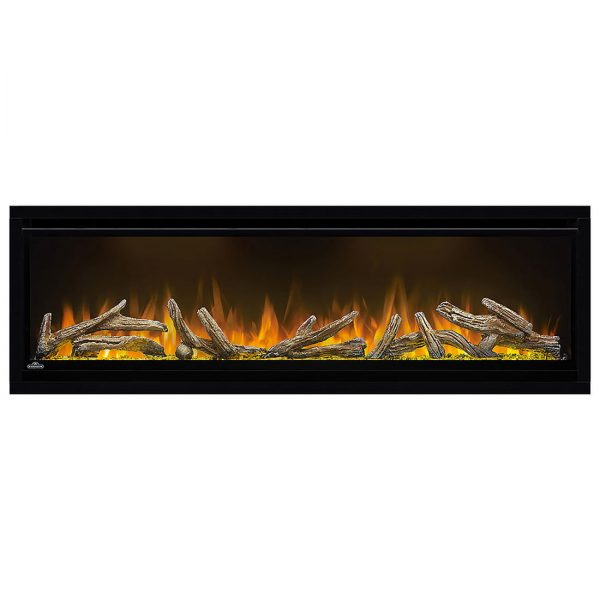 Napoleon AlluraVision 50 inch Deep Wall Mounted Electric Fireplace NEFL50CHD firewood