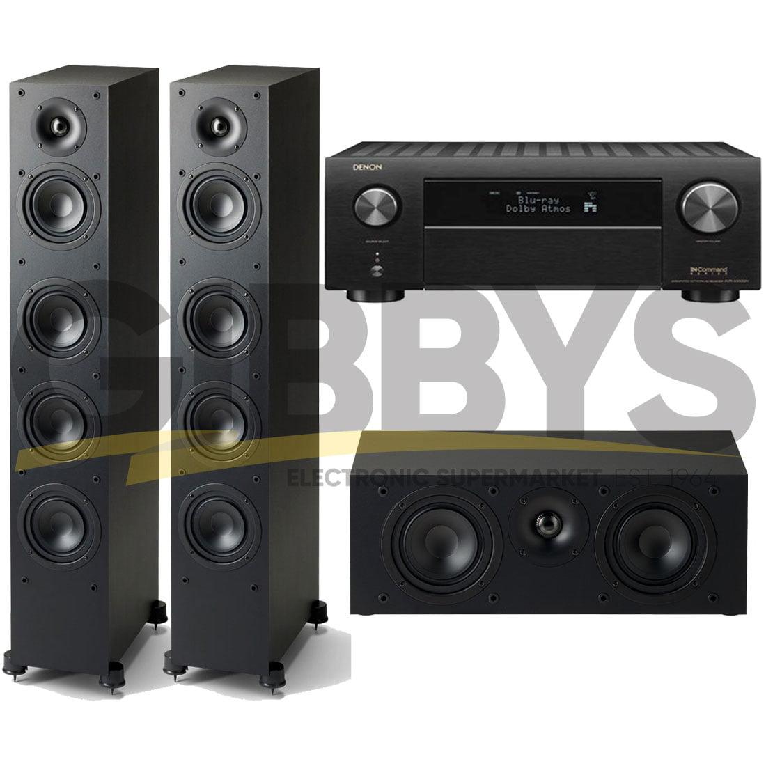 AVRX4500H - MONITOR SE6000F(2) - blk - MONITOR SE2000C - blk - Bundle