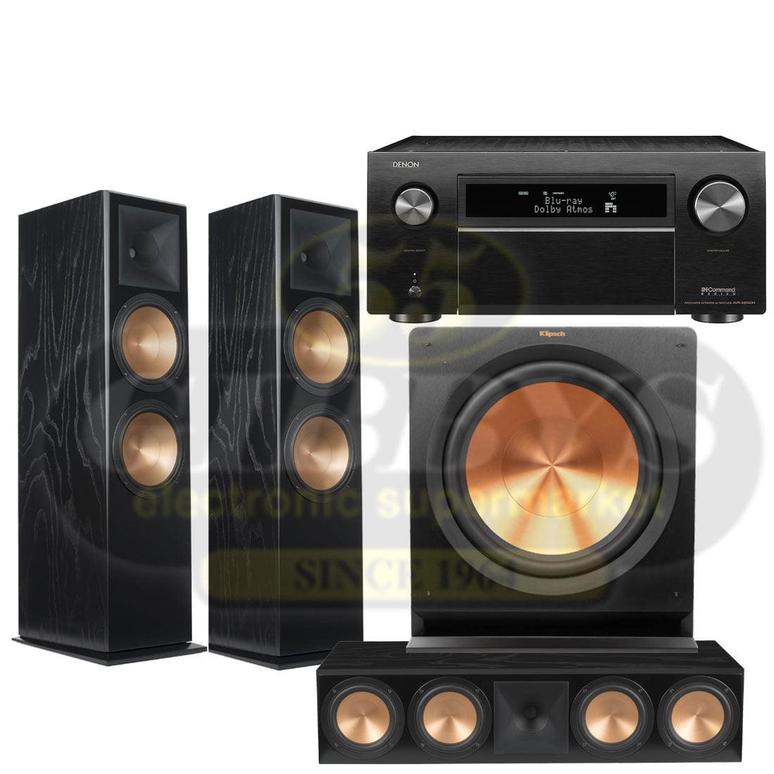 Denon AVR-X8500H 13 2 Channel 4K AV Receiver | Klipsch RF7 Reference  Premiere 3 1 Speaker Bundle #2